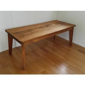 ハンドメイド  ミッドセンチュリースタイル ソファテーブル  T4585|country-kinoka