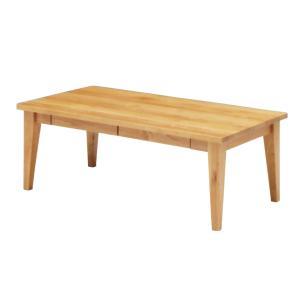 ナチュラル家具 リビングテーブル elmo series エルモ 105コーヒーテーブル NA エコウレタン塗装 テーブル country-la-terre