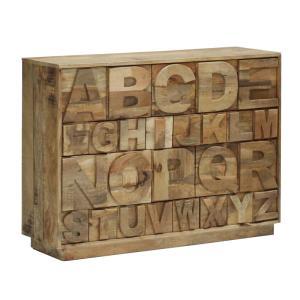 古材使用のアルファベットチェスト アラジン128チェスト SS-A1316|country-la-terre