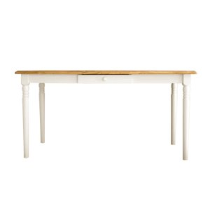 フレンチカントリー 家具 ダイニングテーブル マム フィンネル 140ダイニングテーブル 送料無料 MAM 食卓テーブル カントリー家具|country-la-terre