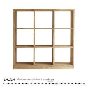 フレンチスタイル フレンチカントリー マム ローゼル 3×3シェルフ MAM Roselle 3×3 shelf 送料無料 オープン棚 オープンラック カントリー家具|country-la-terre