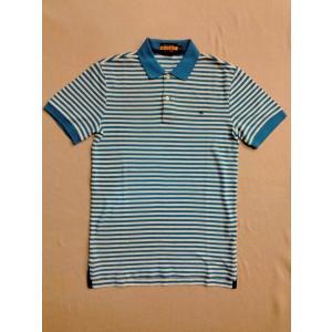 RUGBY(ラグビー)・Ralph Lauren(ラルフローレン)・ワンポイント・ボーダー・ポロシャツ・XS・ホワイト×ブルー|countrypie