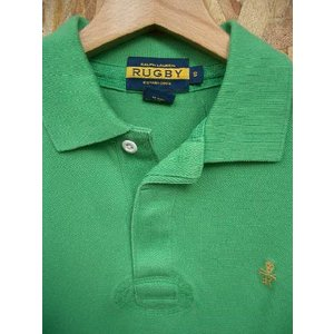 RUGBY(ラグビー)・Ralph Lauren(ラルフローレン)・ドクロ・スカル・刺繍・ポロシャツ・S・グリーン|countrypie