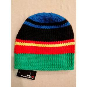 RLX アールエルエックス Ralph Lauren ラルフローレン ニット キャップ 帽子 ウール ニット帽 並行輸入 countrypie