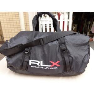RLX アールエルエックス Ralph Lauren ラルフローレン ダッフル バッグ ブラック 並行輸入 countrypie