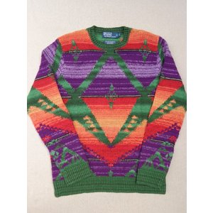 Polo Ralph Lauren ポロ ラルフローレン ネイティブ ハンドニット セーター インディアン 並行輸入|countrypie