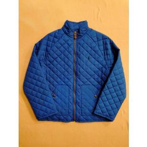 Polo Ralph Lauren ポロ ラルフローレン キルティング ジャケット ブルー|countrypie