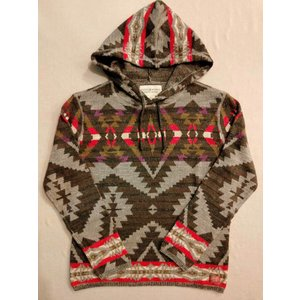 デニム&サプライ Denim&Supply ラルフローレン Ralph Lauren ネイティブ ニット セーター インディアン フーデッド パーカー|countrypie