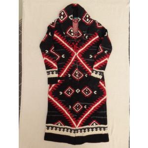 Lauren ローレン Ralph Lauren ラルフローレン ウィメンズ ネイティブ ニット コート ウール インディアン ロング ジャケット XXS レディース セーター|countrypie