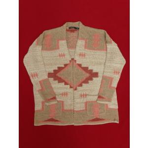 Lauren ローレン Ralph Lauren ラルフローレン ネイティブ ニット カーディガン セーター インディアン コットン|countrypie