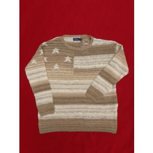 ポロ ラルフローレン Polo Ralph Lauren 星条旗 アメリカ国旗 ニット セーター レディース ウィンメンズ Womens 旗 フラッグ コットン|countrypie