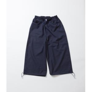 SUNNEI サンネイ  FIT LOOSE 3/4 ELASTIC PANTS  クロップド 裾絞り ワイドパンツ coupy2