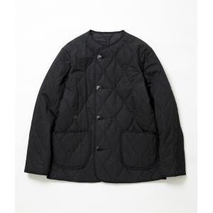 MOJITO モヒート 【ROOM No.206 JACKET】 キルティング ルームジャケット (ブラック)|coupy2