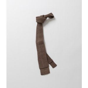 【OUTLET】S.E.H KELLY エスイーエイチケリー  Walsh Cotton Knit Tie  ウォルシュコットン ニットタイ|coupy2