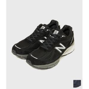 new balance ニューバランス 【M990 】Made in USA スニーカー (ブラック/ネイビー) coupy2