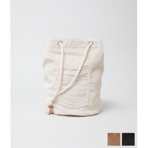 WESTOVERALLS ウエストオーバーオールズ 【CORDUROY BOX】 コーデュロイボックスバッグ (ナチュラル/ブラウン/ブラック)|coupy2