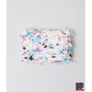 COOHEM コーヘン ニットツイード カードケース (ネイビー/ホワイト)|coupy2