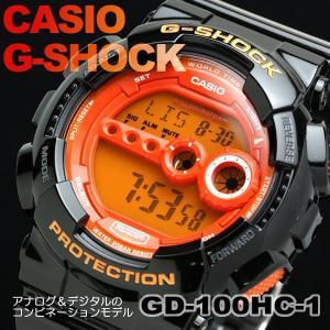 G-SHOCK Hyper Colors g-shock ジーショック Gショック カシオ CASIO 腕時計 gd-100hc-1