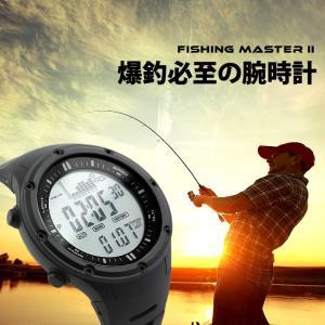 爆釣必至 メンズ 腕時計 フィッシングタイマーを搭載したデジタルウォッチ|courage