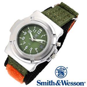 ミリタリー腕時計 メンズ スミス&ウェッソン SWW-11-OD 正規品|courage