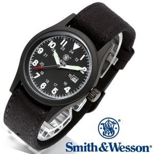 スミス&ウェッソン Smith & Wesson ミリタリー腕時計 SWW-1464-BK 正規品|courage
