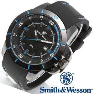 スミス&ウェッソン Smith & Wesson ミリタリー腕時計 SWW-397-BL 正規品|courage