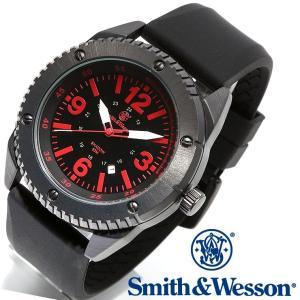 スミス&ウェッソン Smith & Wesson ミリタリー腕時計 SWW-693-BK 正規品|courage