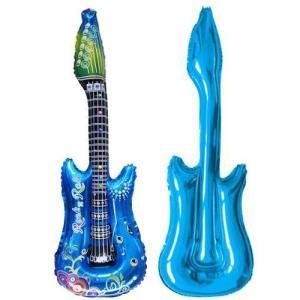子供 誕生日 ギター バルーン 風船 ロックスター!キッズ 誕生日 バースデー パーティー グッズ おもちゃ 10個 セット 送料 無料|courageshop