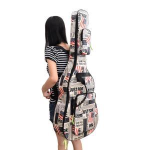 ギターケース 星条旗 USA 国旗 ギグバッグ アコースティックギター ソフトケース  収納 バック おしゃれ アメリカン 106cm|courageshop