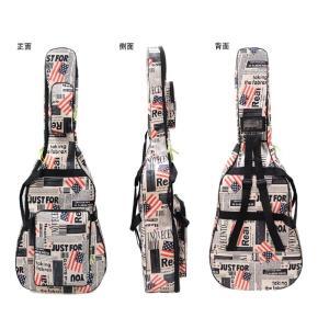 星条旗 USA 国旗 ギグバッグ アコースティックギター ソフトケース  収納 バック おしゃれ アメリカン 106cm|courageshop|02