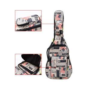 星条旗 USA 国旗 ギグバッグ アコースティックギター ソフトケース  収納 バック おしゃれ アメリカン 106cm|courageshop|03
