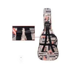 星条旗 USA 国旗 ギグバッグ アコースティックギター ソフトケース  収納 バック おしゃれ アメリカン 106cm|courageshop|05