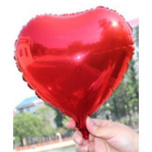 バルーン ハート 型 簡単 誕生日会 結婚式 二次会 20cm 10個 セット 赤 レッド 送料 無料 |courageshop
