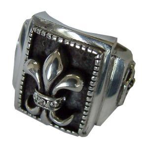 50%OFF メンズ 指輪 メンズリング シルバーミックス ピューター リリィ リング プレゼント ギフト|cowbell