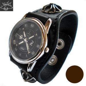 腕時計 メンズ 腕時計 革 レザー 革ベルト クロスコンチョ プレゼント ギフト|cowbell