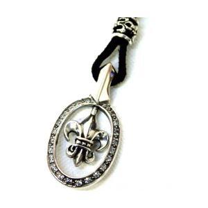 ネックレス シルバー925 メンズ オパールフレーム リリィーデザイン プレゼント ギフト|cowbell
