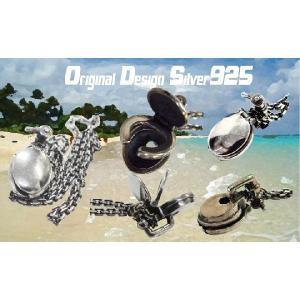 ネックレス シルバー925 メンズ 洋式便器 ペンダント ネックチェーン プレゼント ギフト|cowbell