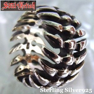 SOUL FETISH シルバーリング メンズ シルバー925デザインリング  【R-1028】 プレゼント ギフト|cowbell