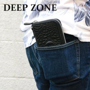 長財布 ロングウォレット メンズ カジュアル ビジネス 本革 レザー ワニ 牛革 クロコダイル型押し Deep Zone プレゼント ギフト|cowbell