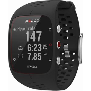 POLAR ポラール M430 SPORTS WATCH BLACK M/L M430 スポーツウォ...