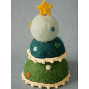 (取り扱い終了お買い得品♪)(クリスマス GOODS) ムーロンロン ツリー(S) クリスマスツリー フェルト ディスプレイ|cozymom
