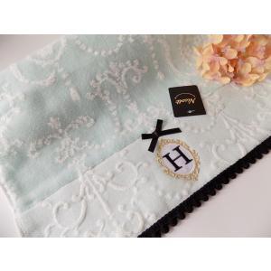 アルファベット フェイスタオル「H」(ラッピング付き) タオルハンカチ プチギフト ホワイトデー ギフト 内祝い お返し 誕生日  プレゼント 女性プレゼント 女|cozymom