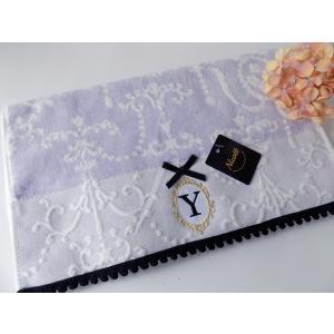 アルファベット フェイスタオル「Y」(ラッピング付き) タオルハンカチ プチギフト ホワイトデー ギフト 内祝い お返し 誕生日  プレゼント 女性プレゼント 女|cozymom
