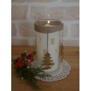 (取り扱い終了お買い得品♪)(クリスマス GOODS)CLASSICAL キャンドルスタンド クリスマス デコレーション プレゼント ガラス|cozymom