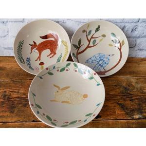 (松尾ミユキ)mug for allMUG WITH FRIENDS 17cmボウル (簡易ラッピング付き)深鉢 パスタ皿 カレー皿 陶器 日本製 誕生日 ギフト|cozymom