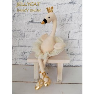 JELLYCAT FA6S ファンシースワン(I am Fancy Swan)白鳥の湖 バレリーナ 大人女子 ぬいぐるみ 誕生日|cozymom