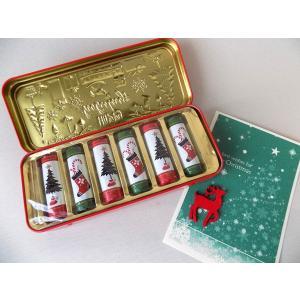 クリスマス ペンケース缶45gチョコレート  誕生日 ギフト クリスマス プレゼント かわいい クリスマスプレゼント チェコ 筆箱 小物入れ|cozymom