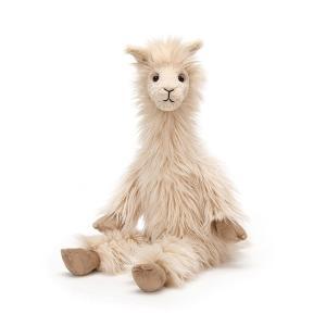 (JELLYCAT ジェリーキャット)L2LL ルイス ラマ Luis Llamaラマプレゼント ぬいぐるみ 誕生日 可愛い ギフト ロイヤルファミリー イギリス王室|cozymom