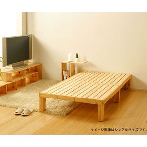 国産 ひのき すのこ ベッド ダブル|cozyroom
