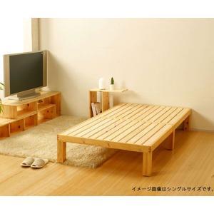 国産 ひのき すのこ ベッド セミダブル|cozyroom